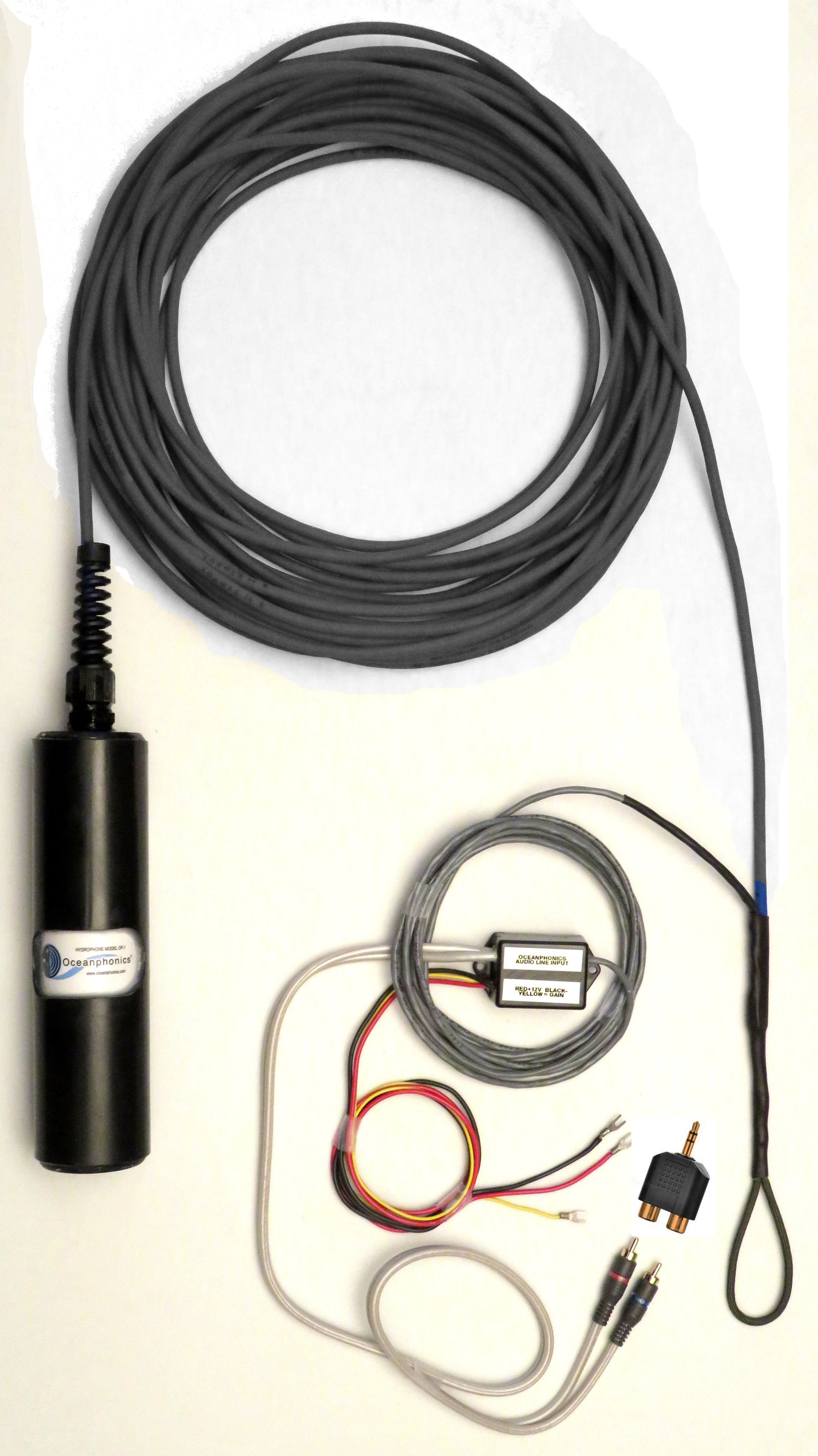 Model OP-1 Hydrophone with 25 foot cable